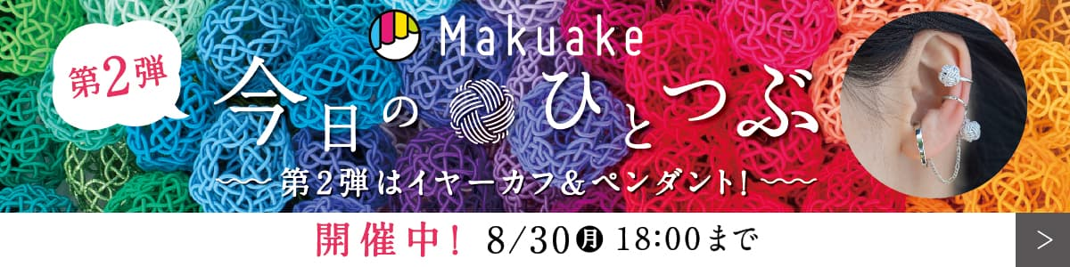 Makuake 第2弾 今日のひとつぶ 開催中!8/30(月)18:00まで
